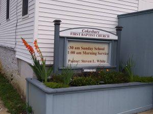 Cokesbury First Baptist Church