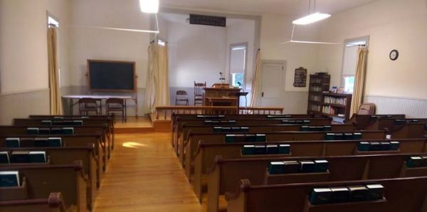 Interior of Oakwood Mennonite Church