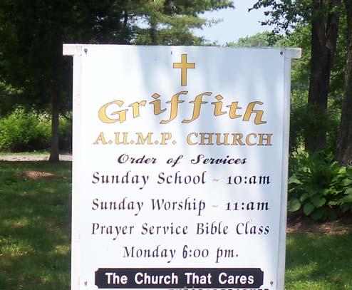 Griffith AUMP Church